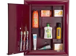 nilkamal kitchen furniture cabinet mirror box pvc maroon nilkamal buy cabinet mirror box