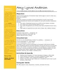 teenage resume example typing resume resume for your job application 89 glamorous examples of resumes