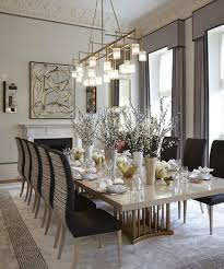 Dining Room Trends Cool How To Decorate An Interior Dining Room With 2017 Trends