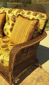 Outdoor Wicker Chairs With Cushions 273 Best Outdoor Wicker Furniture Images On Pinterest Outdoor