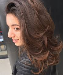 layered flip hairstyles volume layered haircut for medium hair 2017