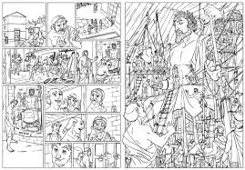 comic book color comic book coloring pages to download and print for free