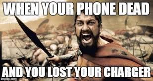 Dead Phone Meme - sparta leonidas meme imgflip