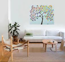 Easter Decorations Modern by New Life Original Oil Painting Abstract Landscape Painting Easter