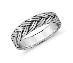 braided ring braided wedding ring in platinum 5 5mm blue nile