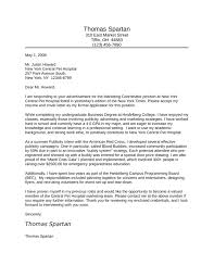 basic marketing coordinator cover letter samples and templates