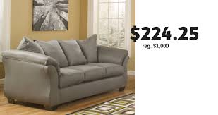 signature design by ashley madeline sofa jcpenney ashley sofa for 224 25 shipped southern savers