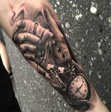 tattoo n 3d 100 awesome watch tattoo designs art and design