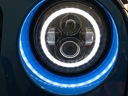 jeep headlights halo led headlight halo angel eye ring review jeepmodreview com