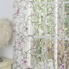 aliexpress com buy 1pcs lot isinotex window curtain plum flower