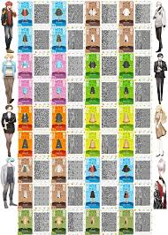mystic messenger character qr codes by acnl qr codez on