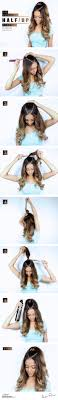 easy hairstyles for waitress s the ultrachic half up ponytail everyone is raving about hair
