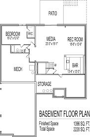 house plans with a basement basement house floor plans home design