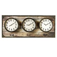 horizontal time zone wall clock midwest cbk global worldwide