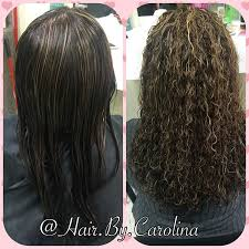 pictures of spiral perms on long hair spiral hair perm before and after images before and after