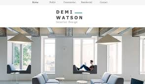 Interior Design Internship Portfolio Portfolio Website Templates Design Wix
