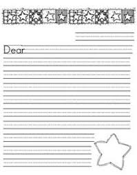 printable lined paper grade 2 free letter writing outline paper great for a friendly letter