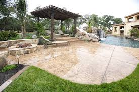 Concrete Decks And Patios Concrete Patio Pictures Gallery Landscaping Network