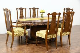 Vintage Dining Room Chairs Sold Romweber Louis Xv De Gaulle 7 Pc Vintage Dining Set Table