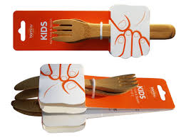 Organic Kitchen Utensils - bambu kids line of bamboo utensils inhabitat green design