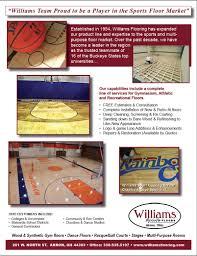 williams sports flooring