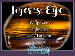 tiger s eye meaning properties healing crystals stones