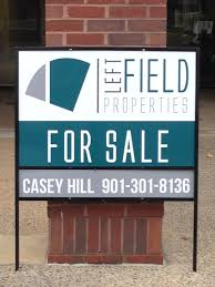 metal frame real estate sign examples of our work pinterest