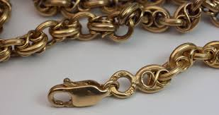 vintage gold chain necklace images Antique gold guard chain link necklace antique jewelry vintage jpg