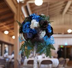 Blue Wedding Centerpieces by 16 Best Bring On The Blue Wedding And Prom Images On Pinterest
