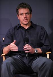 photos of matt damon and paul greengrass at a q u0026a for green zone
