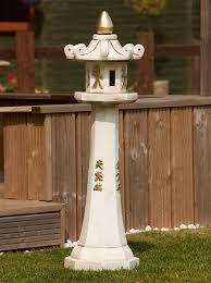grand japanese pagoda lantern large garden ornament