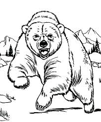 free printable coloring pages grizzly coloring page free