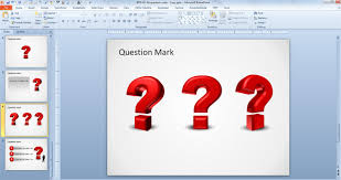 how to create a 3d question mark in powerpoint 2010