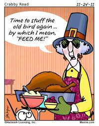 thanksgiving with maxine