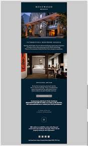 16 best hotel u0026 spa email newsletters images on pinterest email