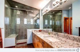 bathroom granite countertops ideas 15 bathrooms with granite countertops home design lover
