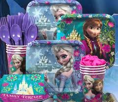 frozen party supplies 10 for 20 worth of birthday party supplies and favors including