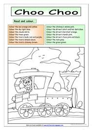 37 free esl read and colour worksheets