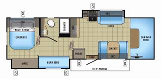 hitchhiker rv floor plans kitchen rvloor plans marvelous images ideas with bunksifth wheel