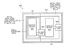 patent us20060012003 seal ring for mixed circuitry semiconductor