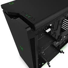 amazon prime black friday deals computer parts amazon com nzxt h440 razer edition mid tower computercase matte