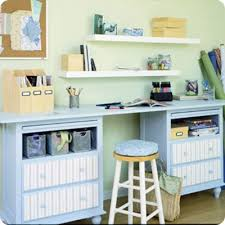 Diy Craft Desk With Storage Diy Craft Space Everythingetsy