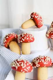 spiced mushroom cookies these are adorable would be good for
