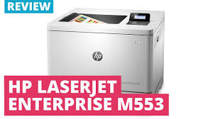 hp color laserjet enterprise m553 series a4 colour laser printer