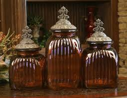decorative canisters kitchen design mediterranean glass kitchen canisters food safe