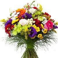 send heavenly garden of beautiful spring flowers to spain