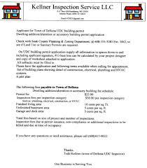 building permit procedures town of dellona sauk county wisconsin