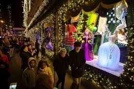 holiday window displays lure them inside by dazzling outside