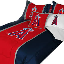 Baseball Comforter Full Mlb Los Angeles Angels Bedding Baseball Comforter Sheets