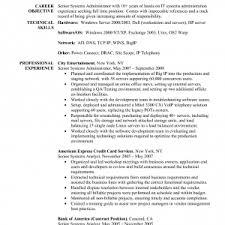 windows system administrator resume samples unix server engineer